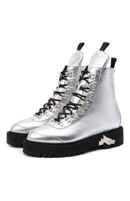 Кожаные ботинки Off-White 0WID001F20LEA0027200