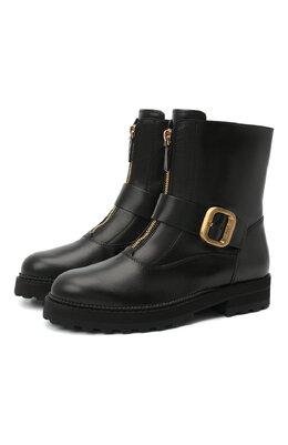 Кожаные ботинки Tod's XXW95B0DY80G0C