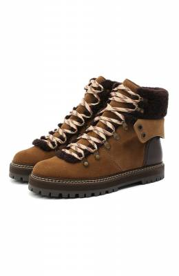 Замшевые ботинки See By Chloe SB31120A/12290