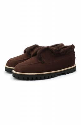 Замшевые ботинки Le Silla 6183R020M1LLP0W