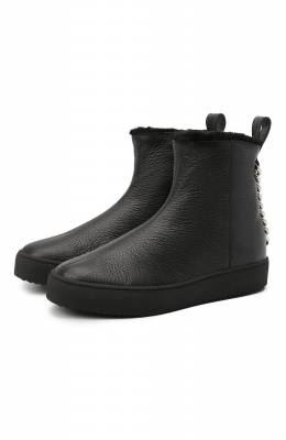 Кожаные ботинки Giuseppe Zanotti Design RW00076/005