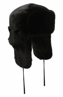 Шапка-ушанка из меха норки Kussenkovv 332800002127