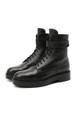 Кожаные ботинки Santoni WTHW59047SM0A0TDN01