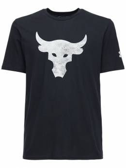 Хлопковая Футболка Ua Pjt Rock Brahma Bull Under Armour 72IDMH079-MDAx0