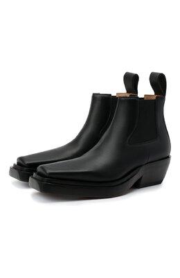 Кожаные ботинки BV Lean Bottega Veneta 639830/V00M0