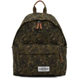 Eastpak Khaki Camo Padded Pakr Backpack EK000620C33