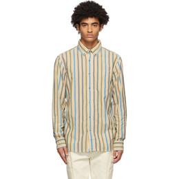 Aime Leon Dore Multicolor Striped Vintage Oxford Shirt FW20WT010