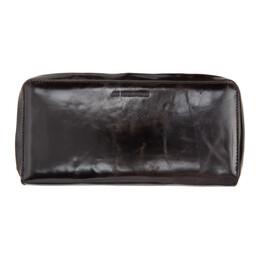 Ann Demeulemeester Brown Large Este Zip Wallet 2002-8208-W-328-060