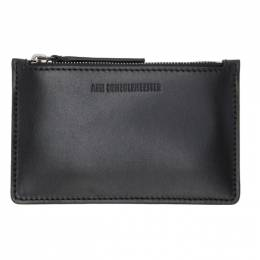 Ann Demeulemeester Black Barcis Zip Wallet 2002-8210-W-326-099