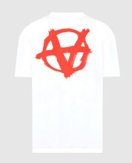 Белая футболка Vetements 2300006382451