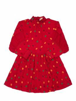 Платье Из Вискозы С Принтом Bobo Choses 72ILB1038-NjAx0