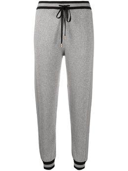 Liu Jo фактурные брюки с блестками TF0078MA49I