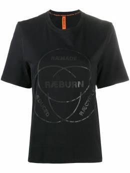 Raeburn футболка с круглым вырезом и логотипом RW42011SI20WC000