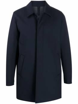 Fay однобортное пальто NAM54410150SFB485A