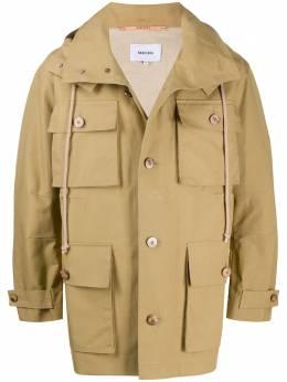 Nanushka легкая куртка Bart с капюшоном NM20FWJK02765