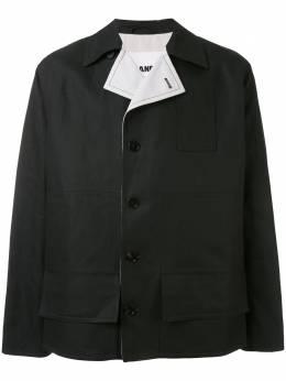Jil Sander куртка прямого кроя с контрастными лацканами JSMQ400226Q250700A