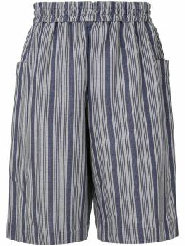 Jil Sander шорты в полоску JSMQ707014MQ257218