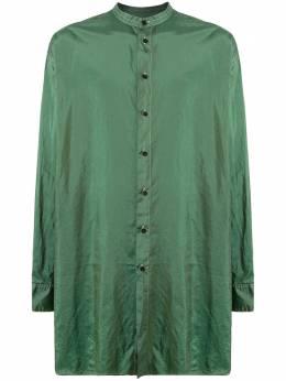 Jil Sander длинная рубашка с объемным карманом JPUQ741205Q470900A