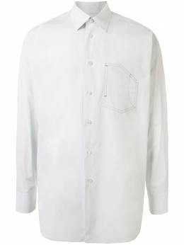 Jil Sander рубашка строгого кроя JSMQ740926MQ244300
