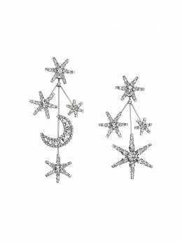 Jennifer Behr серьги Andromeda с кристаллами 50RD14CRYSTAL