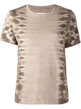 Raquel Allegra футболка с принтом тай-дай Z051793TD