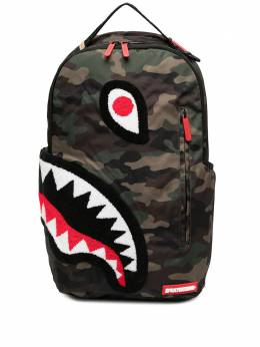 Sprayground камуфляжный рюкзак Torpedo Shark 910B1598NSZ