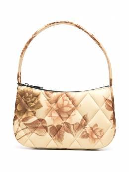 Kwaidan Editions стеганая сумка с цветочным принтом AW20XB011WPPJ