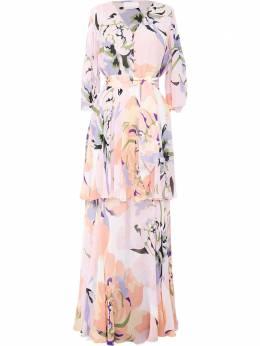 Ginger & Smart платье макси Delirium с цветочным принтом S20510A
