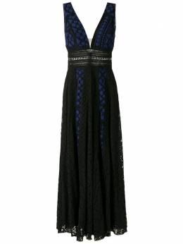 Martha Medeiros вечернее платье Anelise Poá VL001PI0