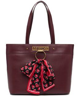 Love Moschino сумка-тоут с логотипом JC4232PP0BKF0