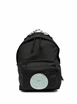 Raf Simons рюкзак с нашивкой-логотипом E5B7PG45