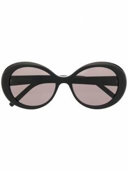 Saint Laurent Eyewear солнцезащитные очки в круглой оправе 642468Y9901