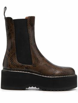 Paris Texas ботинки со змеиным узором PX525XPMBB