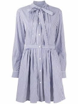 MSGM короткое платье в полоску 2941MDA13A207674