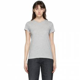 Rag&Bone Grey The Slub T-Shirt W272C32CH