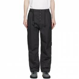 Craig Green Black Fold Trousers CGAW20MWOTRS17