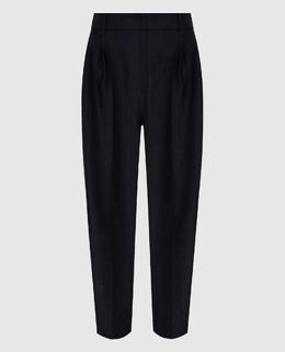 Темно-серые брюки из шерсти Brunello Cucinelli 2300006285981
