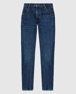 Синие джинсы Khaite 2300006337932