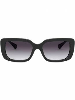 Bvlgari солнцезащитные очки в квадратной оправе BV8223B5018G