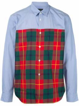 Comme Des Garcons Homme Plus рубашка в клетку тартан PFB0110511