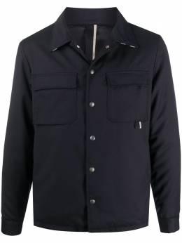 Low Brand куртка-рубашка с заостренным воротником L1GFW202015355