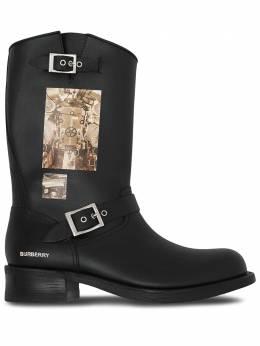 Burberry ботинки с графичным принтом 8023924
