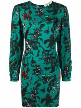 Dvf Diane Von Furstenberg платье-трапеция мини Collins 15588DVF
