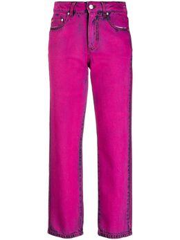 MSGM узкие джинсы с эффектом потертости 2942MDP153LC207967