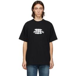 Neighborhood Black Decal C T-Shirt 202PCNH-ST05
