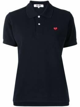 Comme Des Garcons рубашка поло с короткими рукавами и вышивкой P1T203