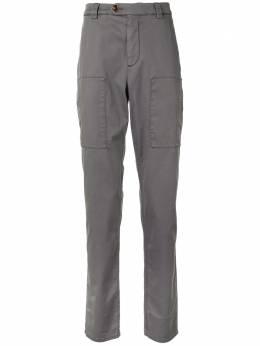 Brunello Cucinelli брюки чинос прямого кроя M289LE1460