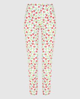 Белые джинсы Prada Sport 2300003961260