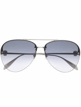 Alexander McQueen Eyewear солнцезащитные очки-авиаторы AM0270S001