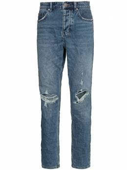 Ksubi прямые джинсы Wolf Gang с прорезями 5000005203